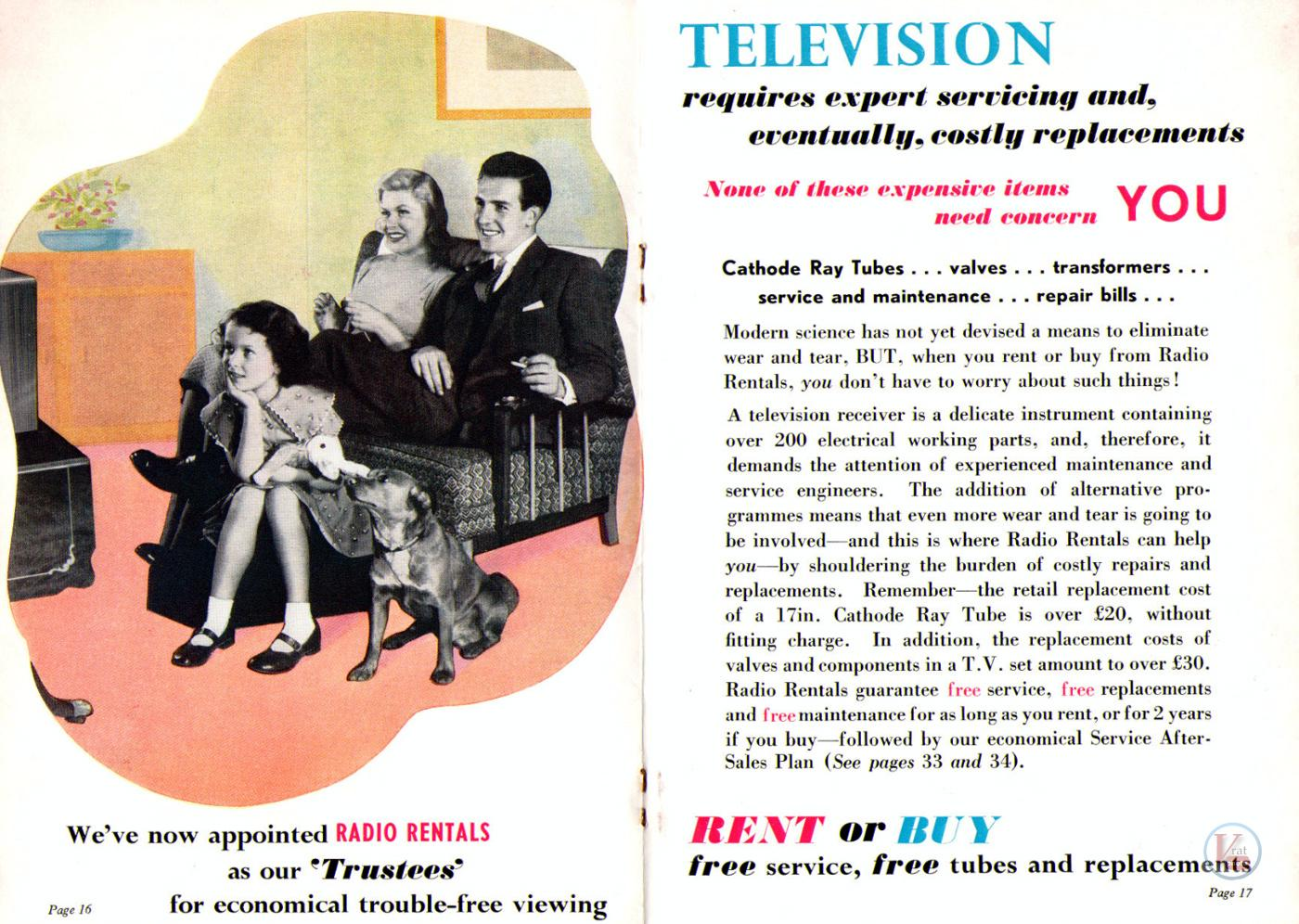 1957 Radio Rentals Catalogue 84