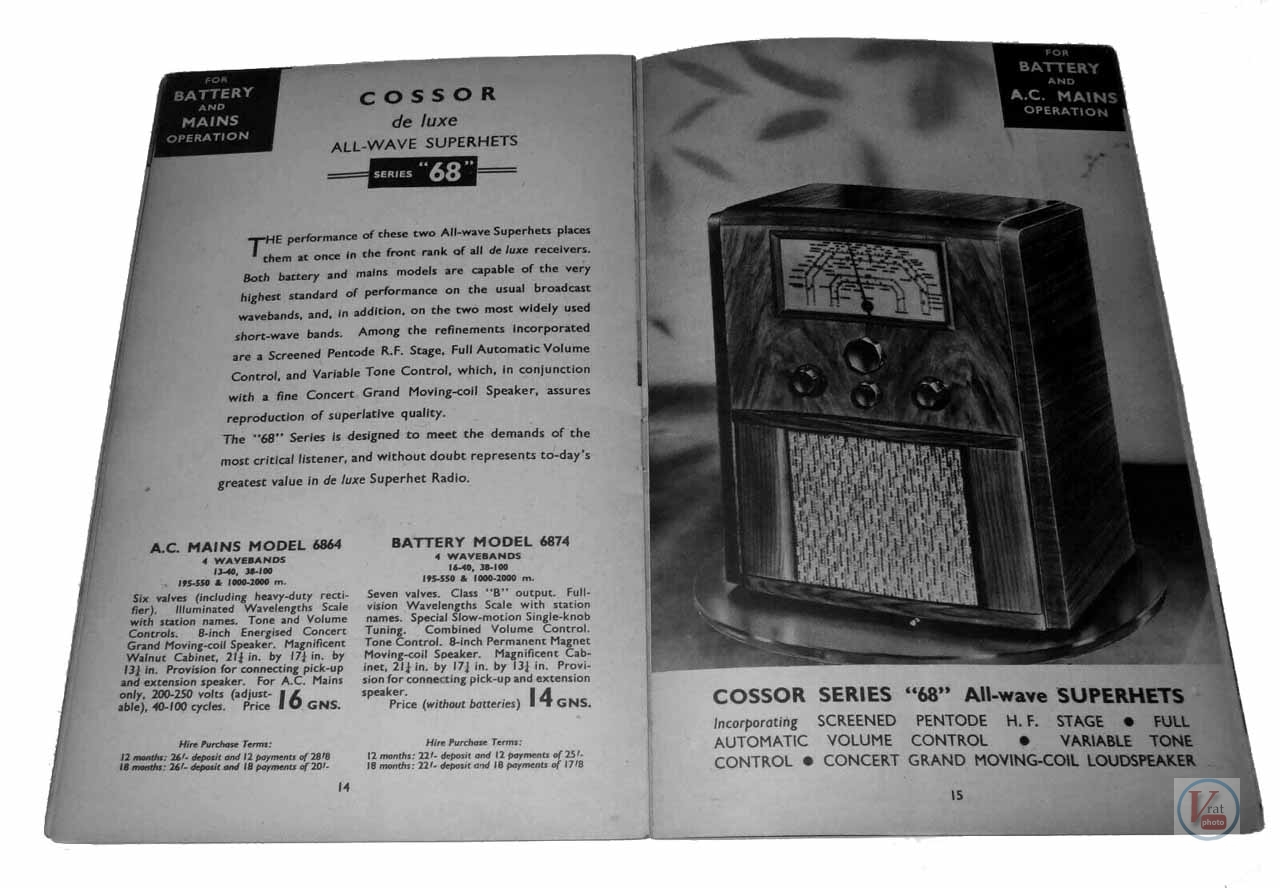 Cossor Radio 20