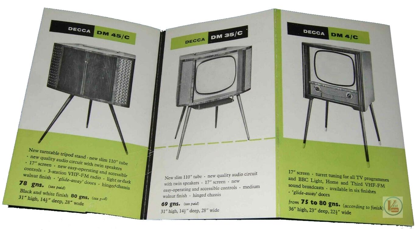 Decca B&W Televisions 10