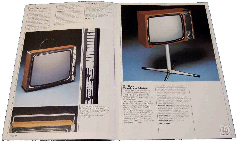 Ferguson B&W TV's 71