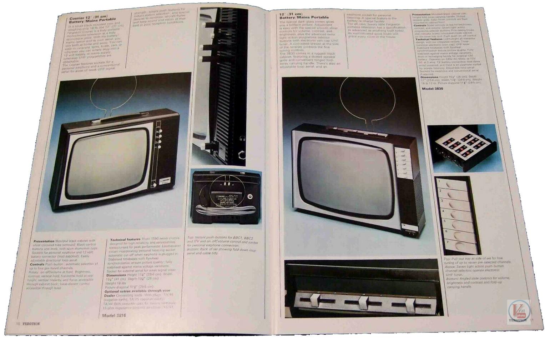 Ferguson B&W TV's 75