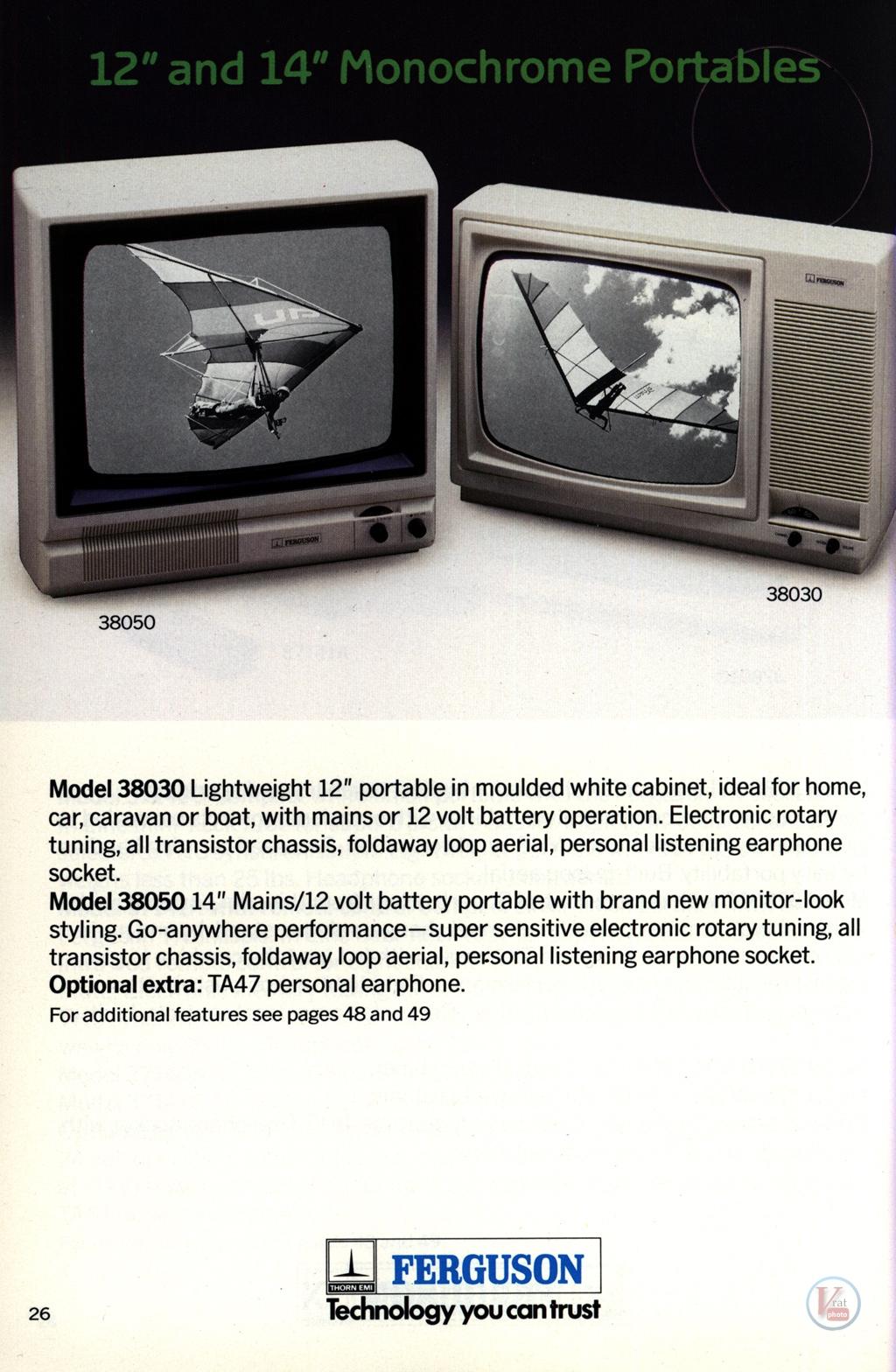 Ferguson Portables 82-86 3