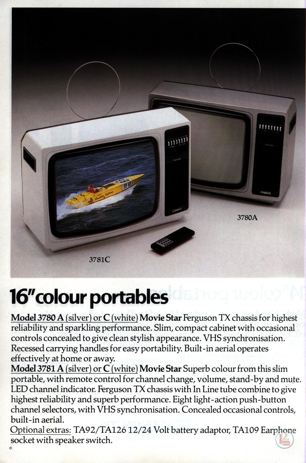 Ferguson Portables 82-86 8