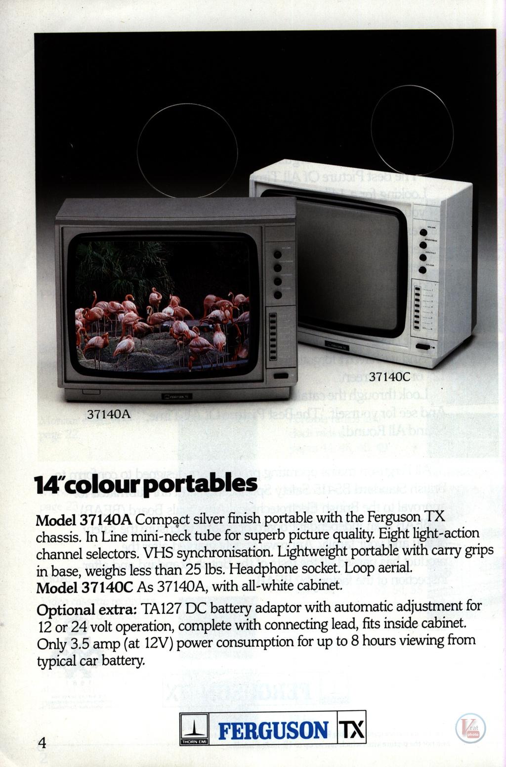 Ferguson Portables 82-86 9