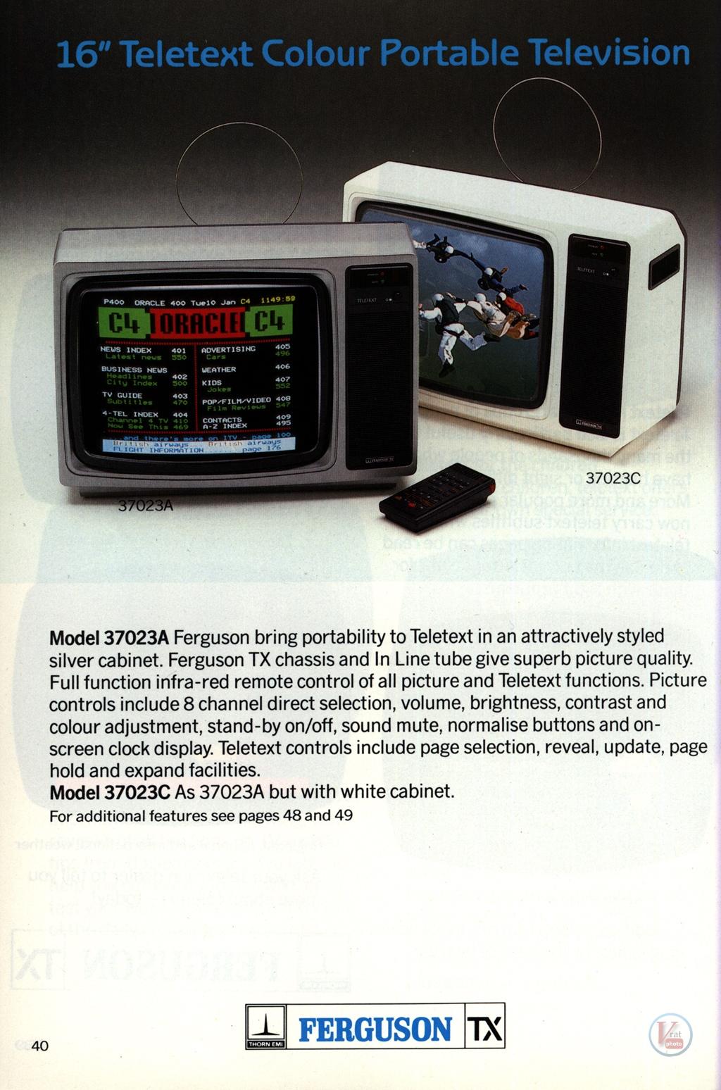 Ferguson Portables 82-86 16
