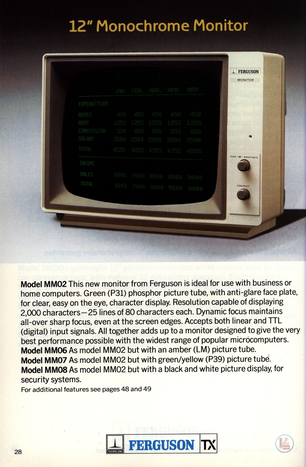 Ferguson Portables 82-86 20