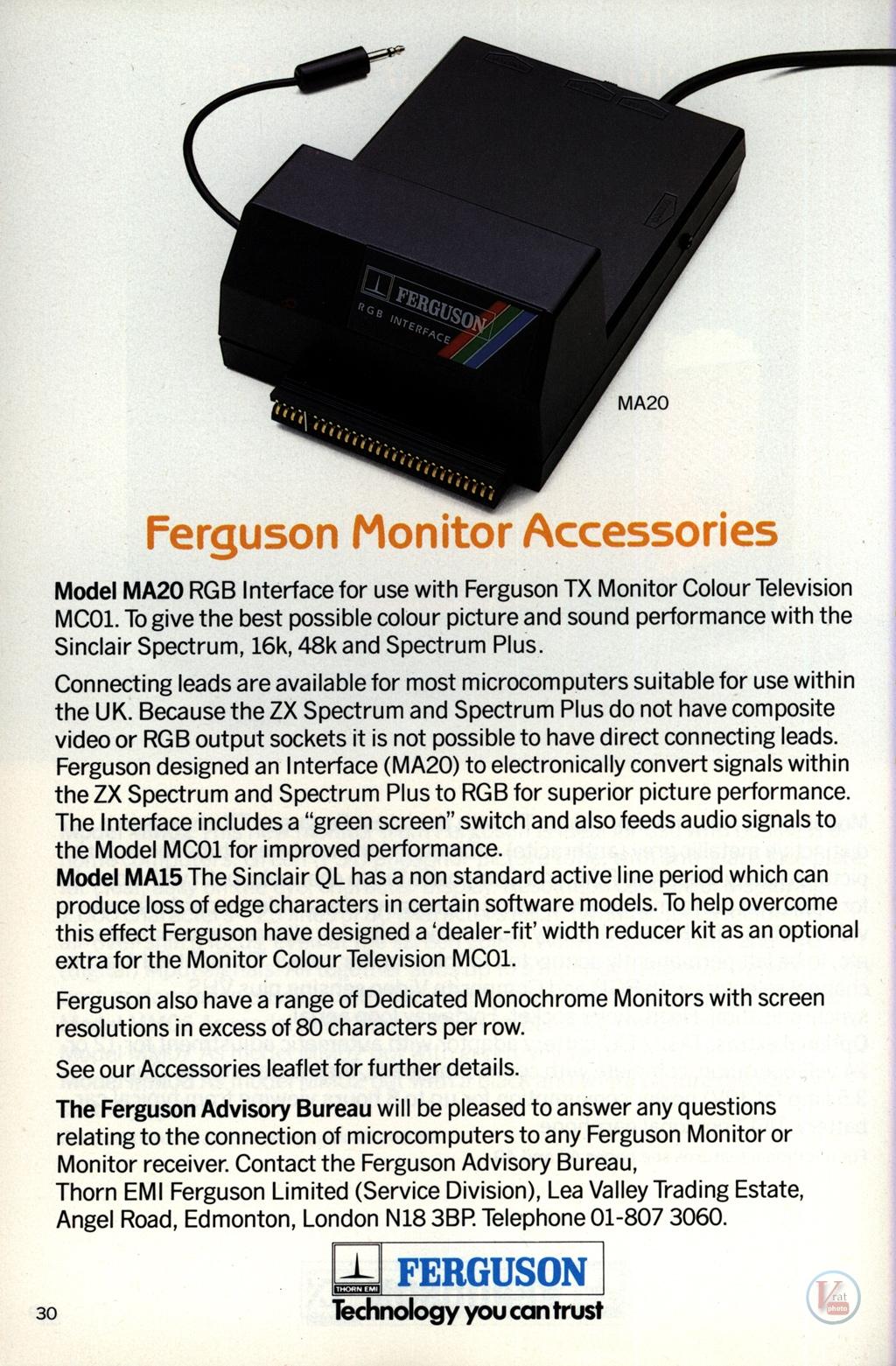 Ferguson Portables 82-86 22
