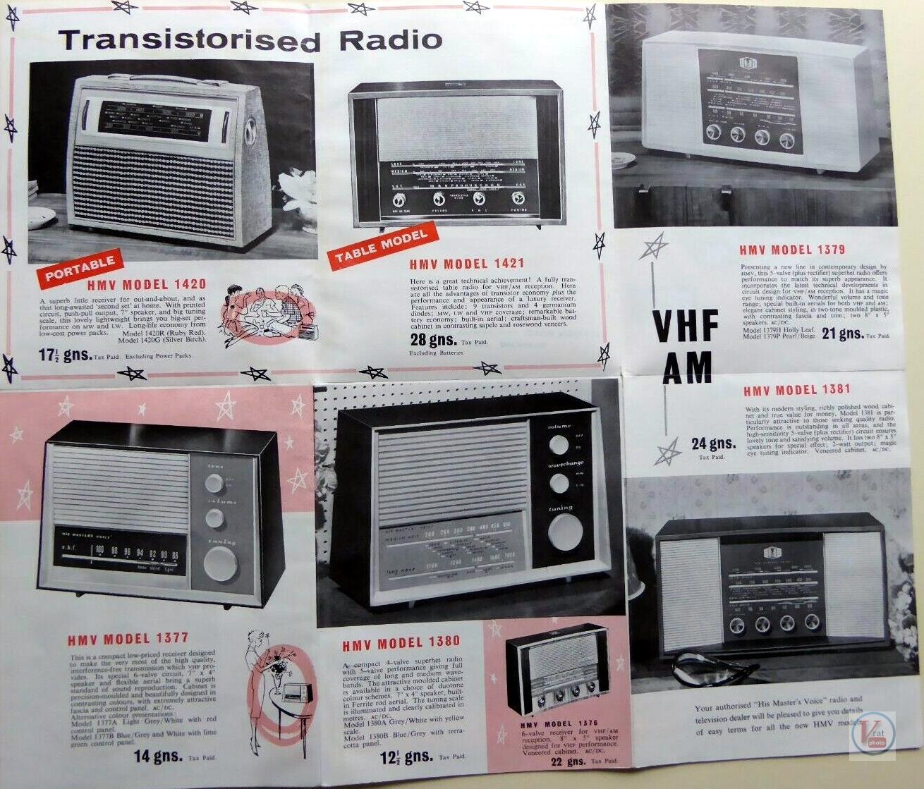 HMV Radios 1