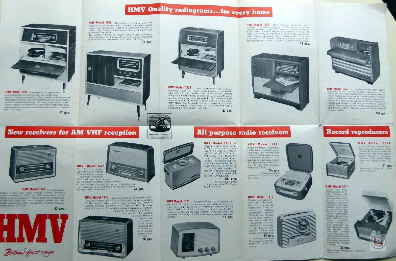 HMV Radios 2