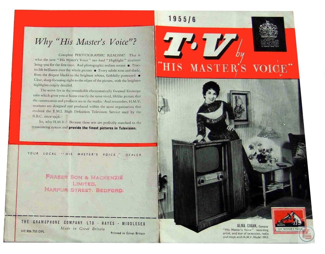 HMV B&W TV's 65
