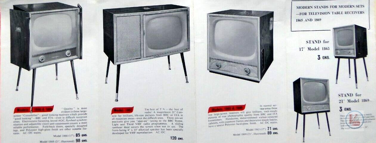 HMV B&W TV's 69