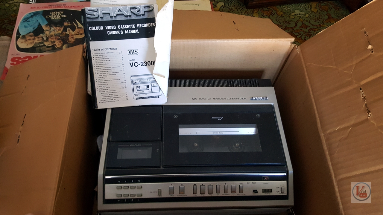 1981 Sharp VC2300H & XC30 Colour Camera 2