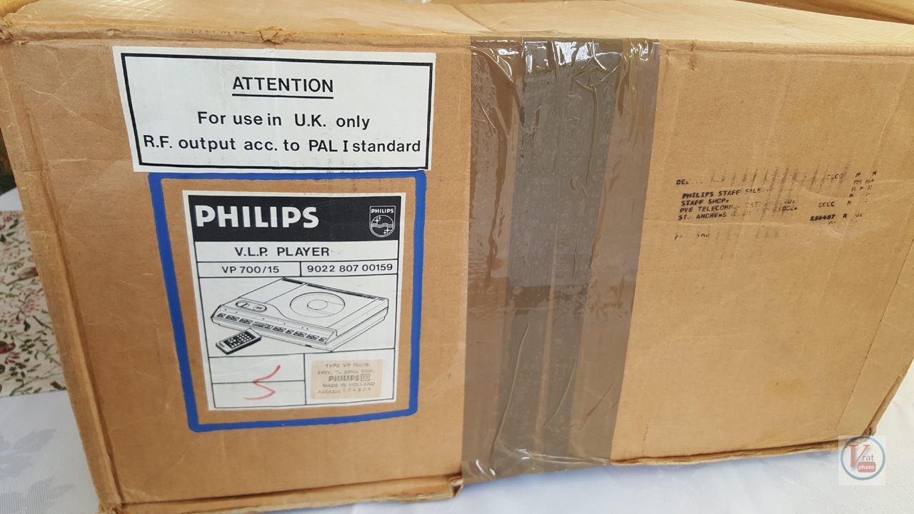 1982 Philips VLP700 2
