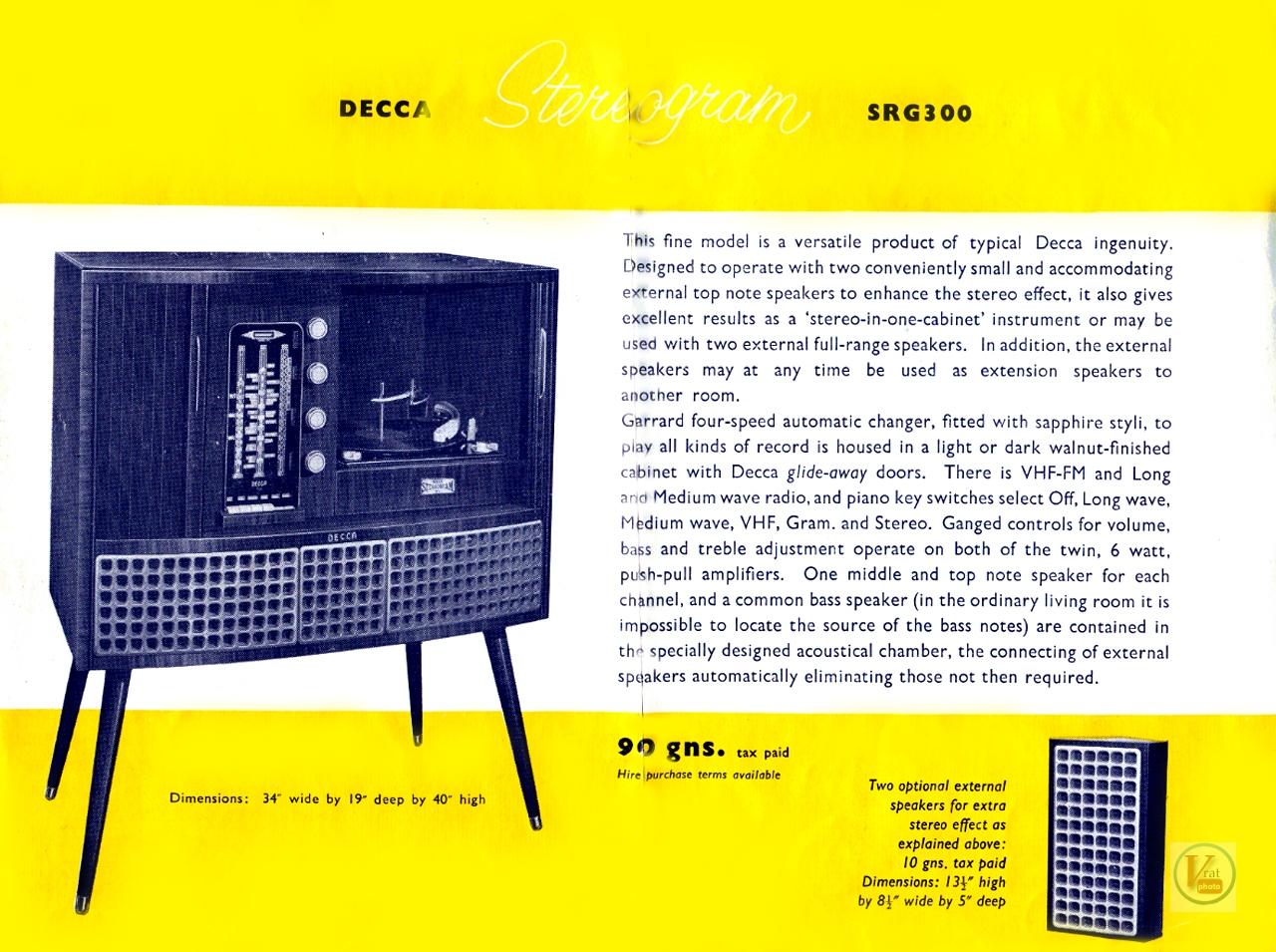 Decca Radiograms 11