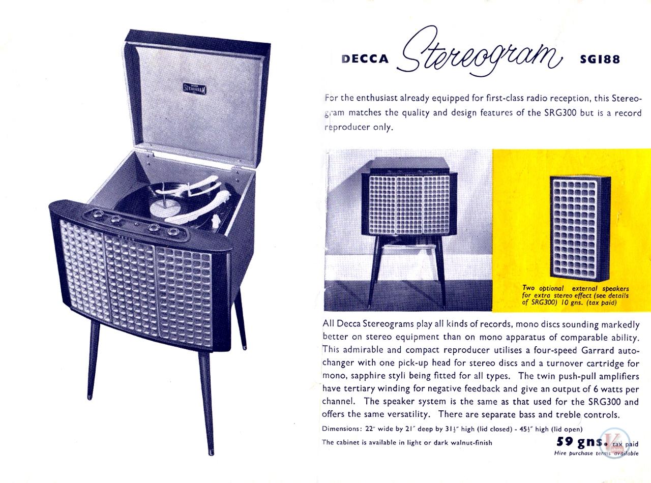 Decca Radiograms 12