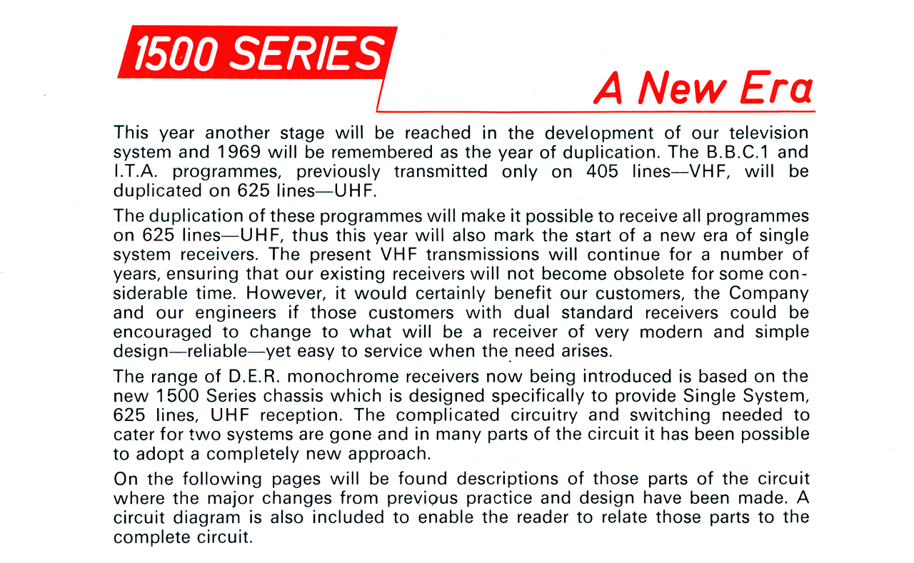 BRC 1500 Chassis, D|E|R Advice to Engineers 25
