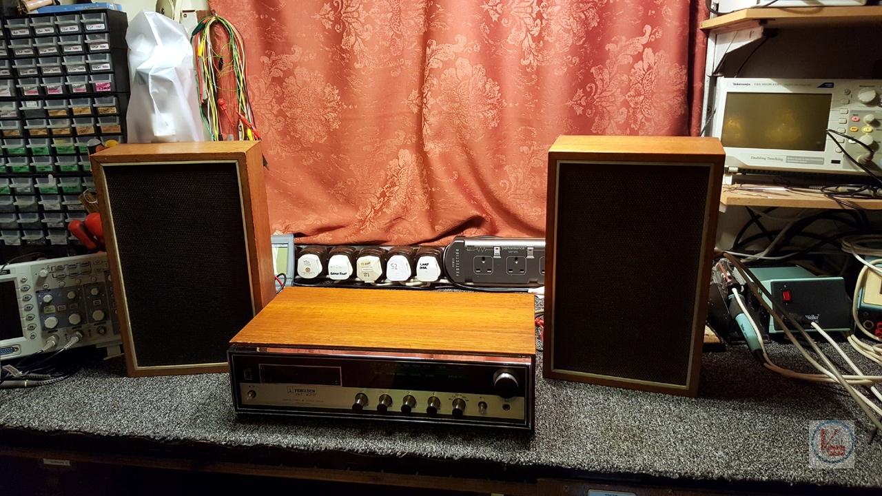 1973 Ferguson 3440 8-Track Stereo 11