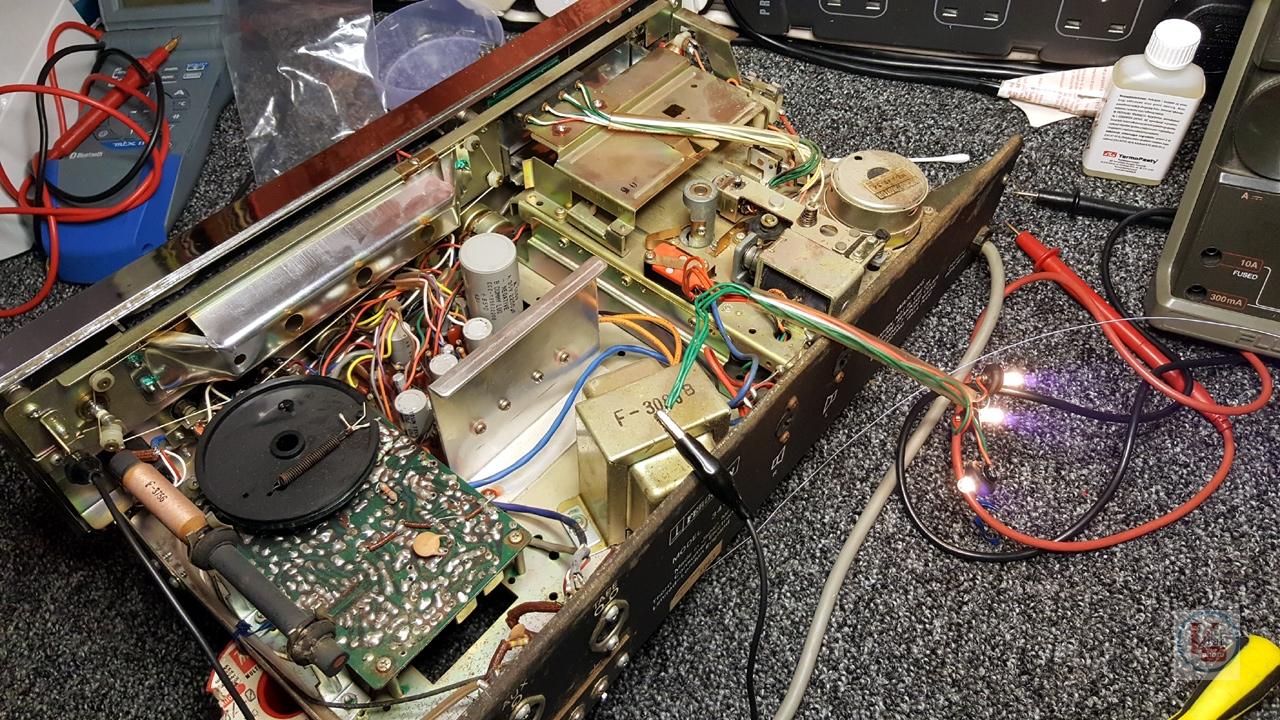 1973 Ferguson 3440 8-Track Stereo 6