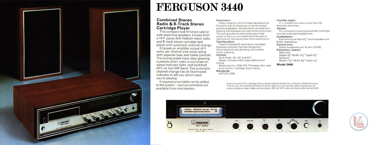 1973 Ferguson 3440 8-Track Stereo 1