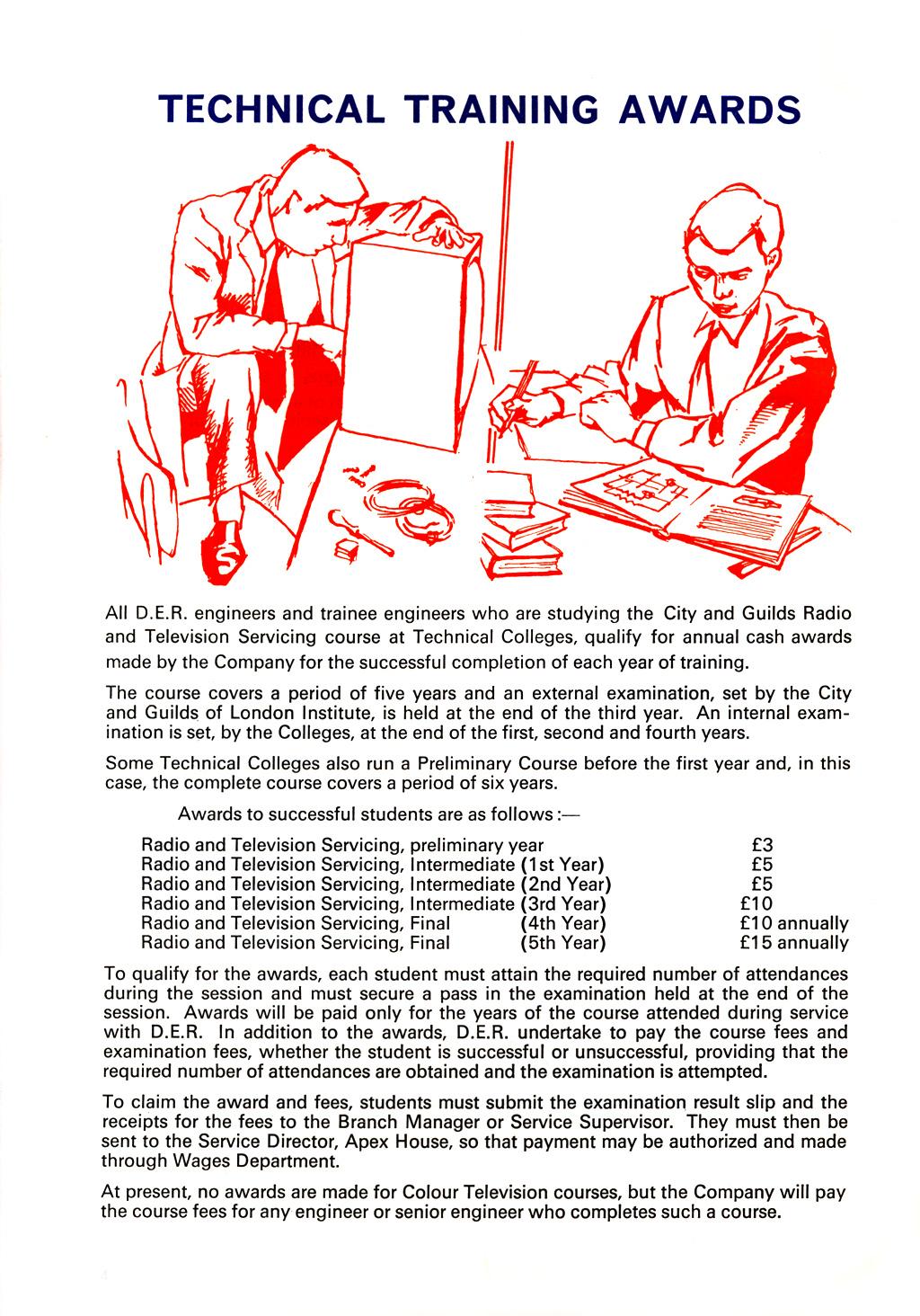 D|E|R Engineer Training Bonus' 1