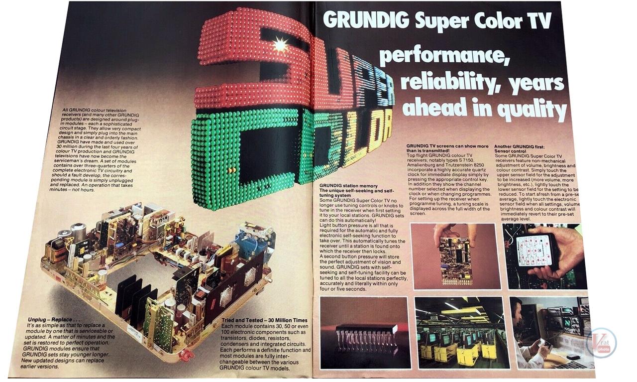 Grundig Colour TVs 26