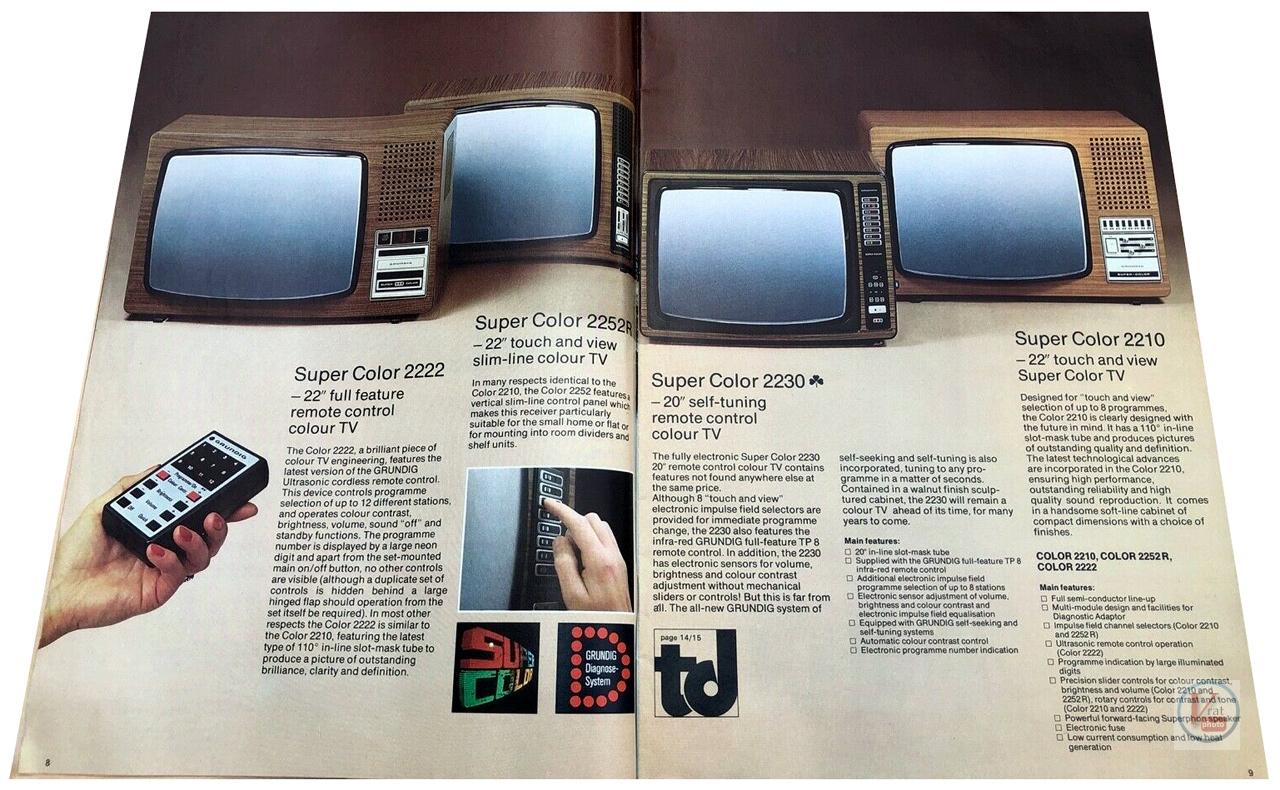 Grundig Colour TVs 27