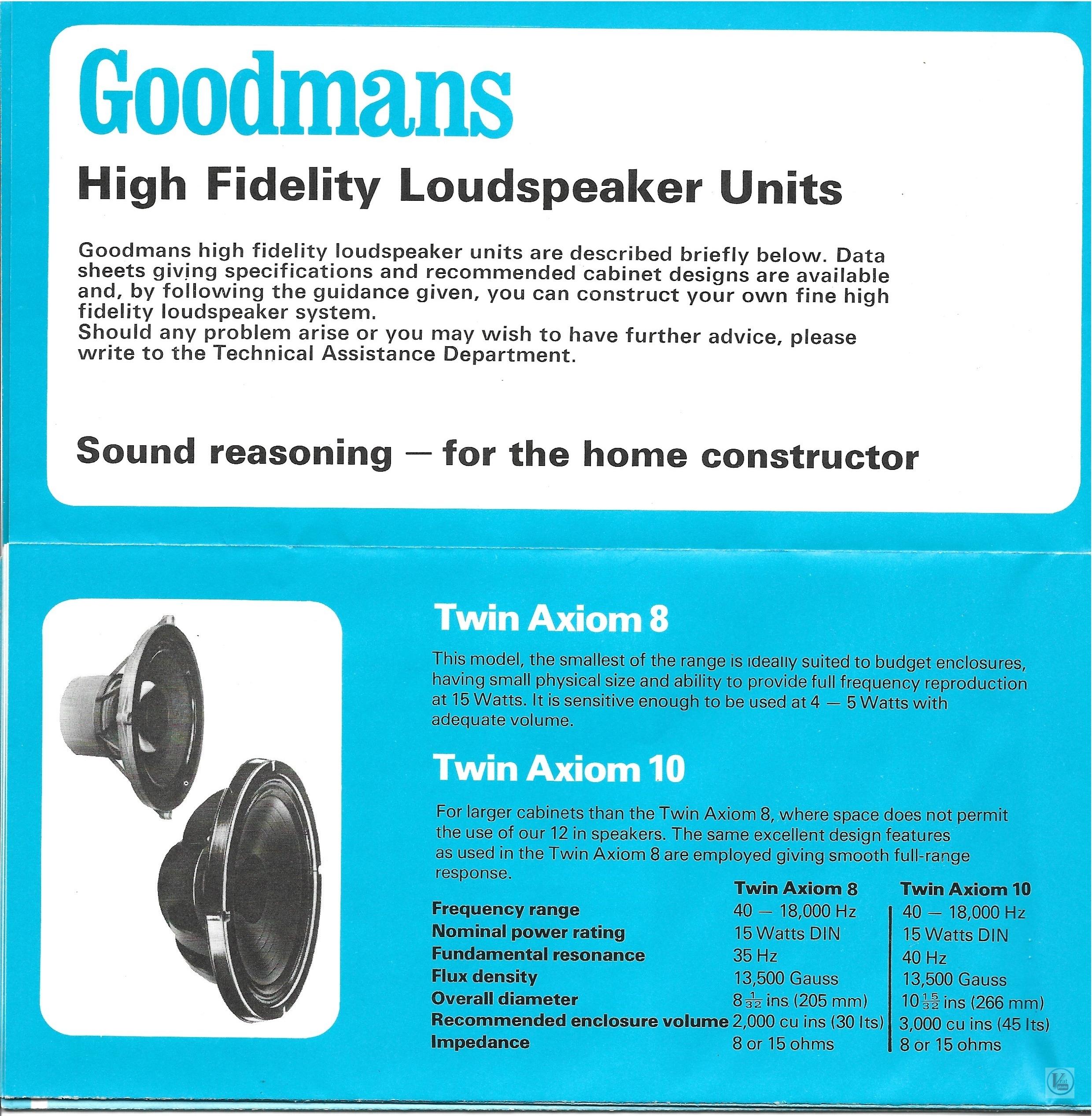 Goodmans 1973-1974 58