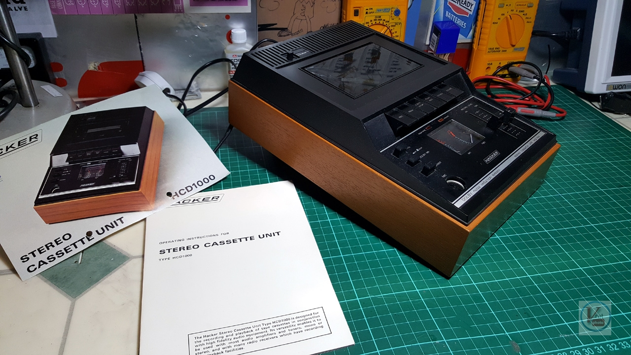 1976 Hacker HCD-1000; Cassette Unit 12