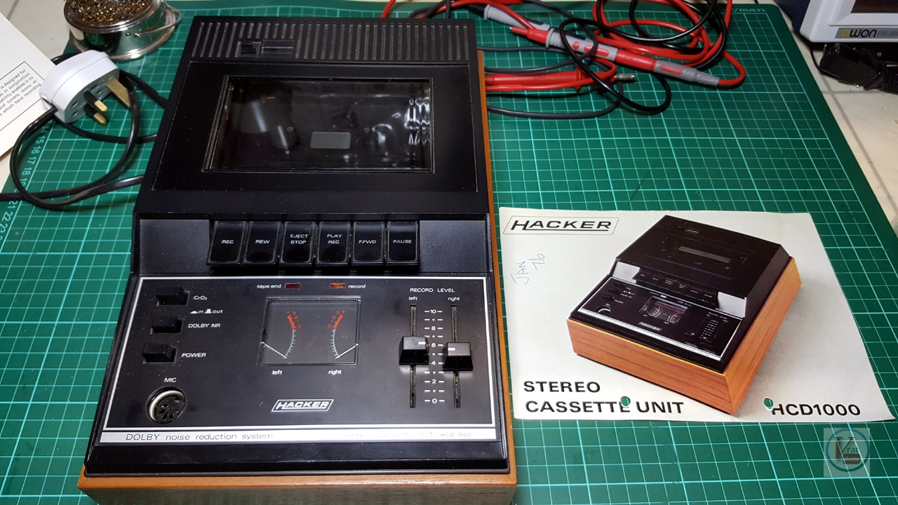 1976 Hacker HCD-1000; Cassette Unit 13