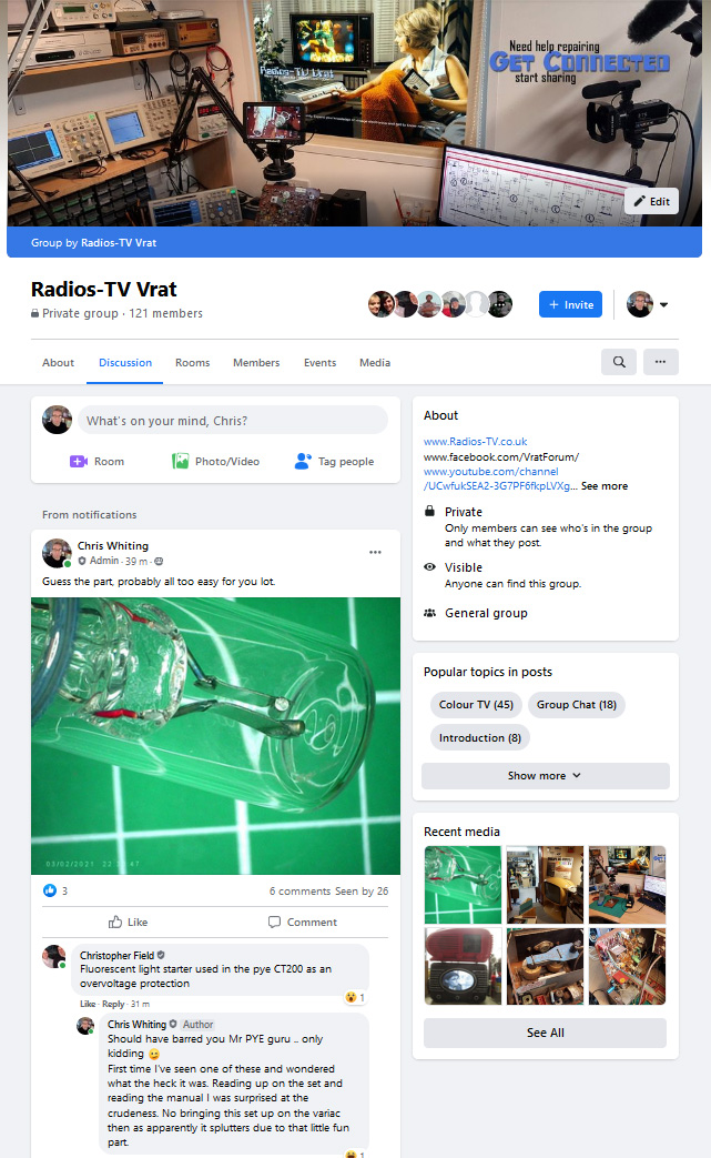 Facebook Integration for Radios-TV Vrat 1