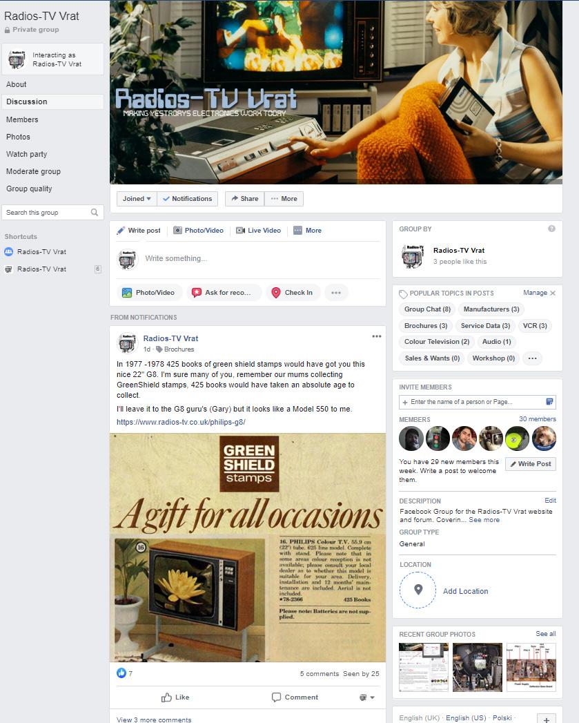 Facebook Integration for Radios-TV Vrat 2