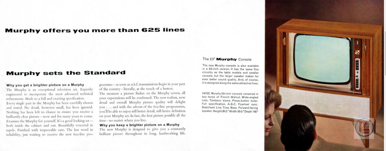 Murphy B&W TV's 58