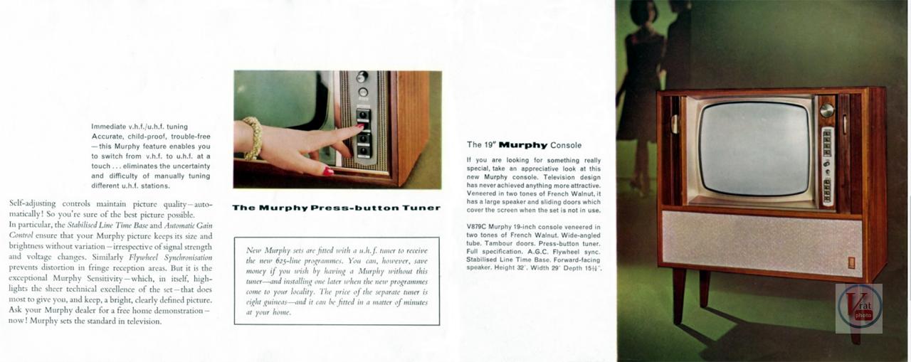 Murphy B&W TV's 59