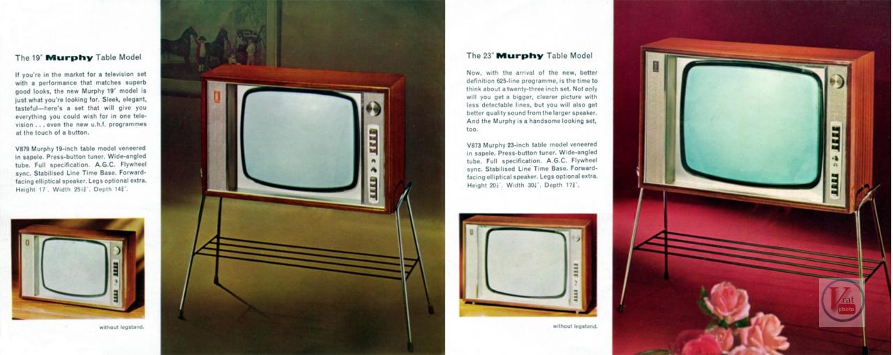 Murphy B&W TV's 60