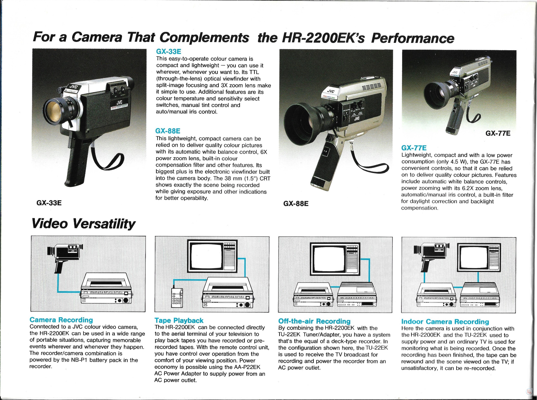 JVC Video Recorders 67