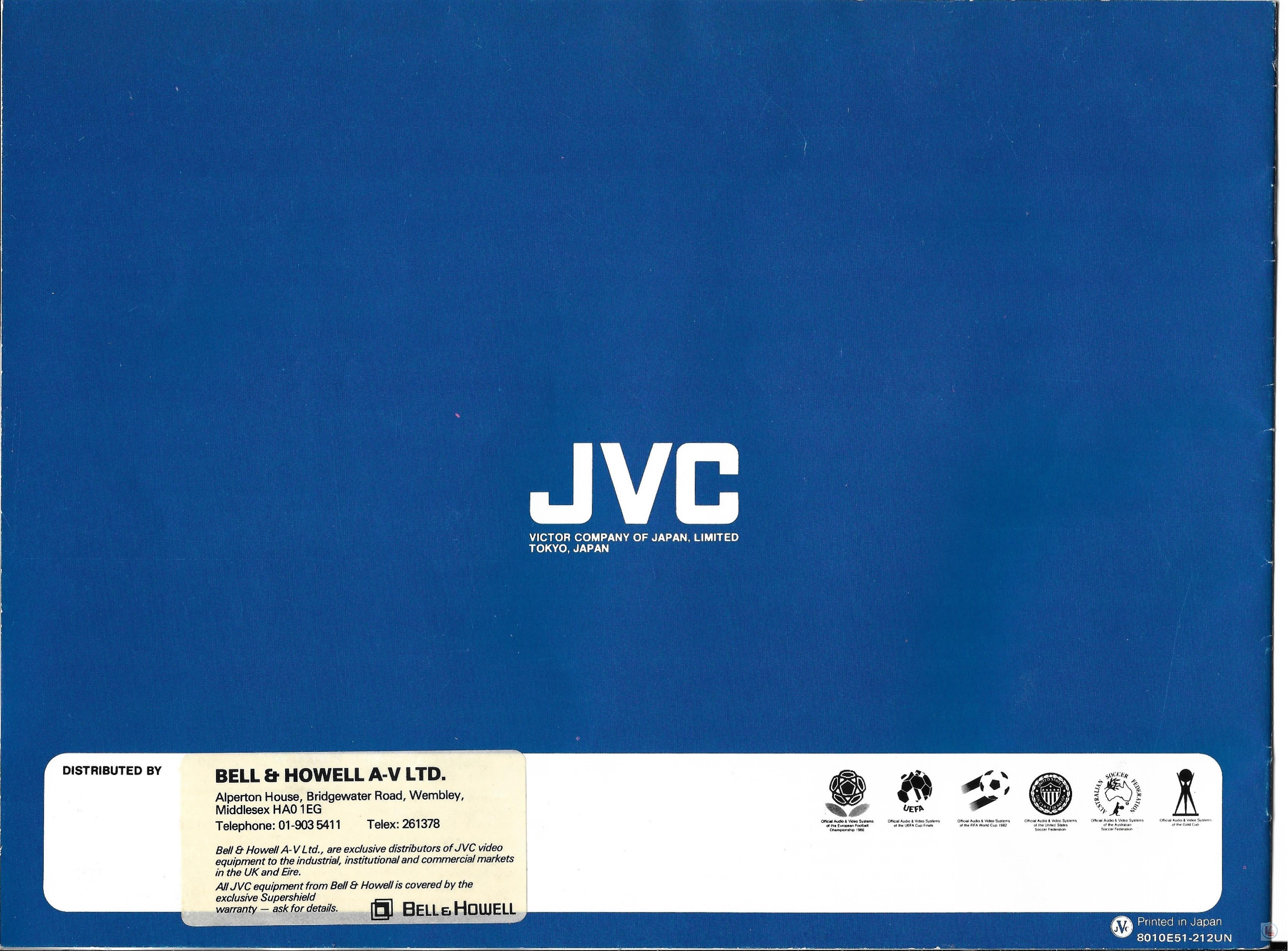 JVC Video Recorders 69