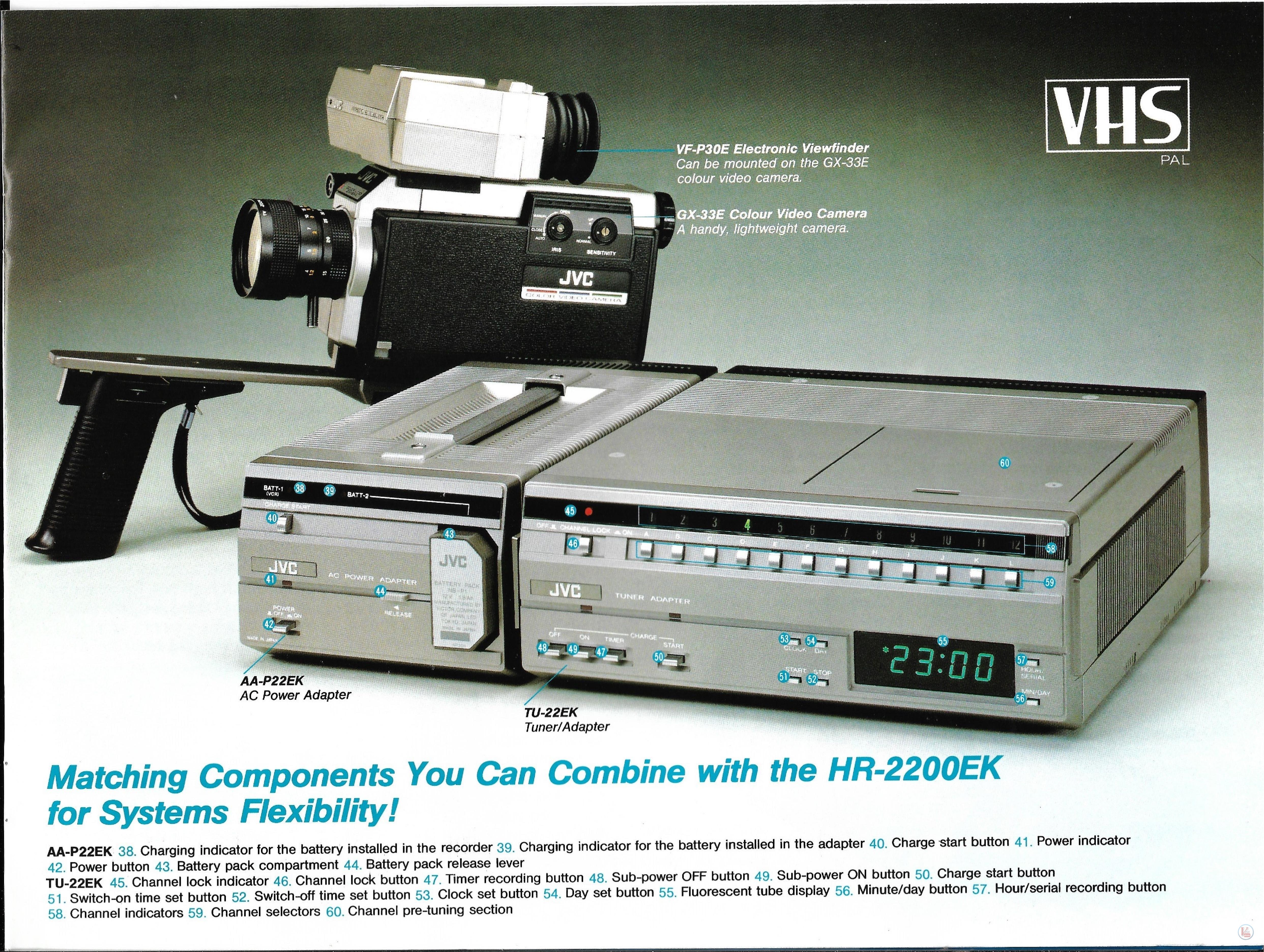JVC Video Recorders 62