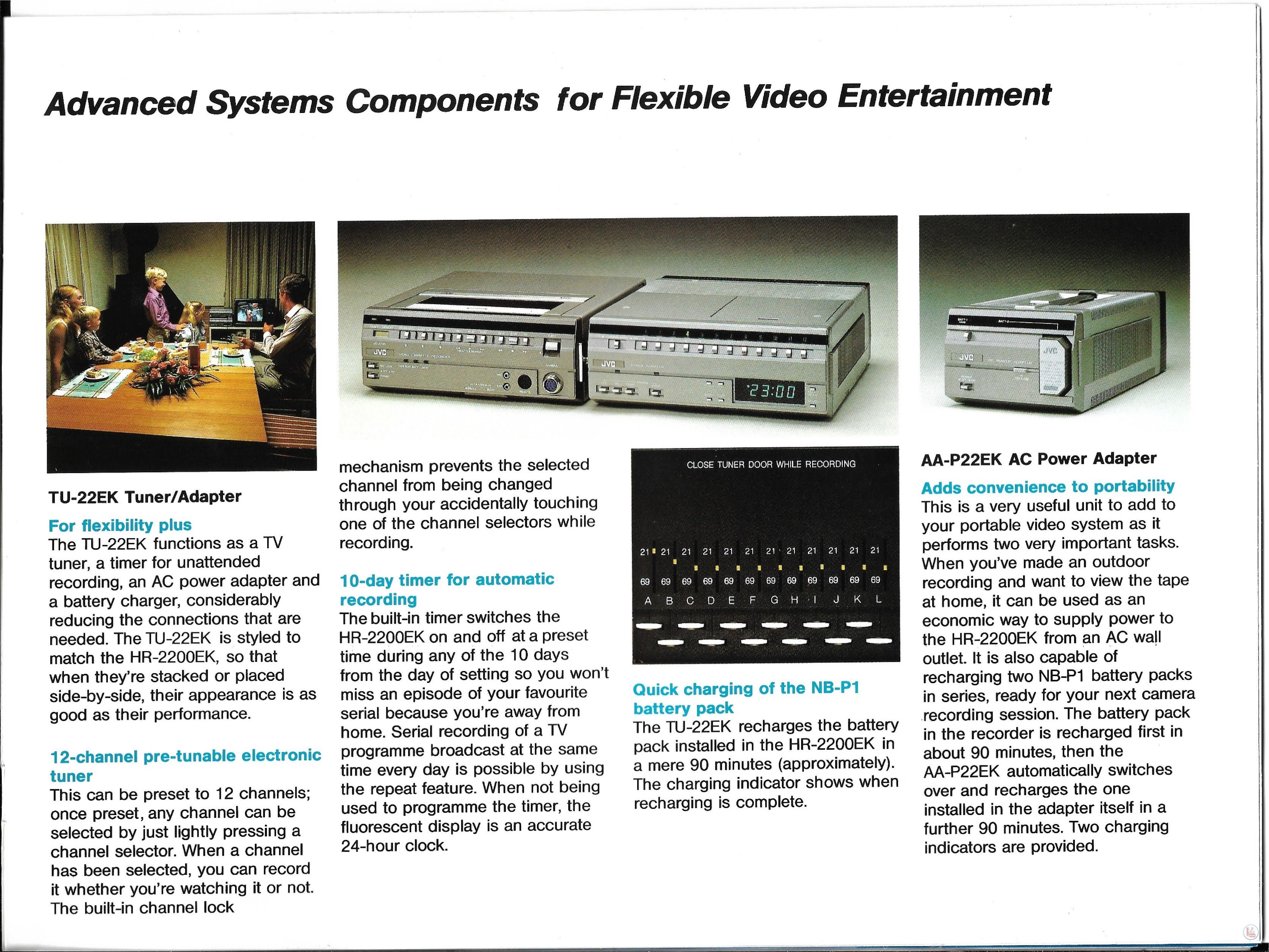 JVC Video Recorders 66