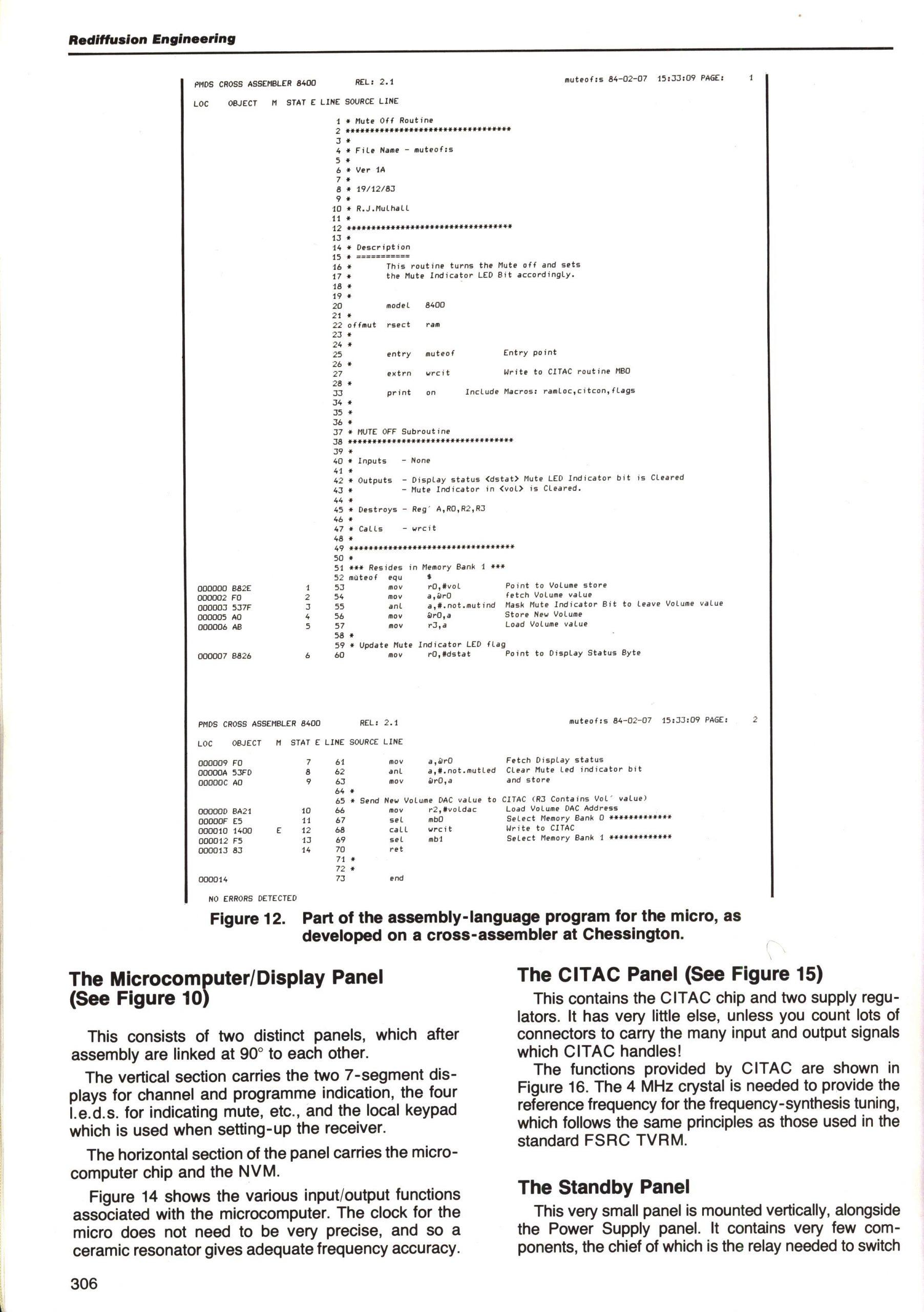 Rediffusion CITAC (MK4A) 27