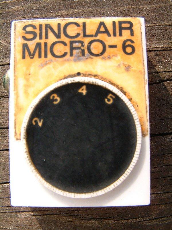 Sinclair Micro-6 – Domestic Radio – Vrat