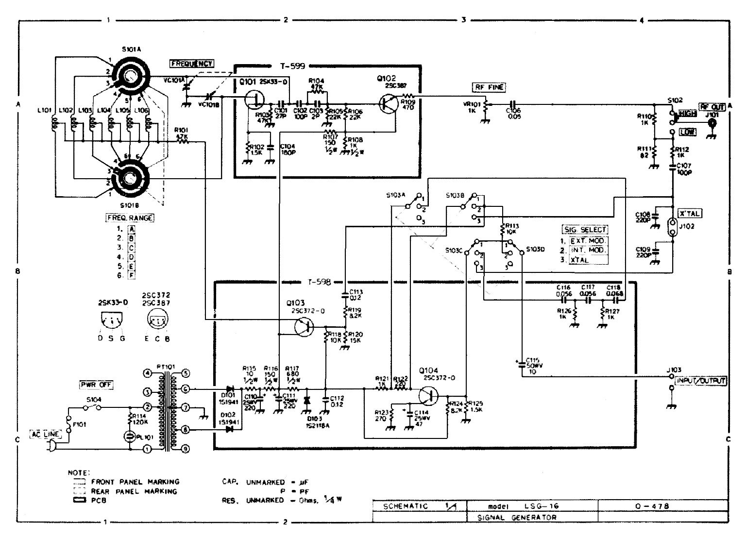 Leader Lsg17 Repair In The Workshop Vrat Stripboard Relay Shield Circuit Diagram Click For A Bigger Image Thanks Mike